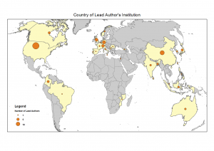 Map of Authors